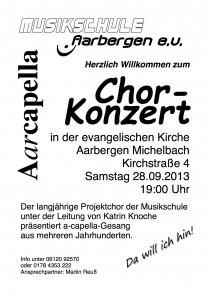Aarcapella Konzert - 28 09 2013 A4